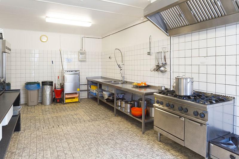 Keuken groepsverblijf de Eekhoorn
