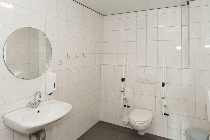 aangepast toilet rolstoelgasten De Wildwal